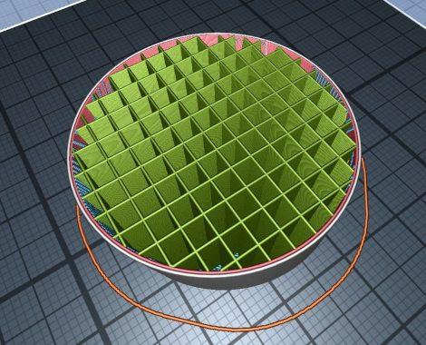 3D-nyomtatott alkatrész, PLA