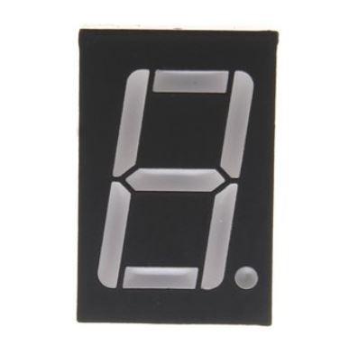 7 szegmenses kijelző 0.56 Inch 1 digit