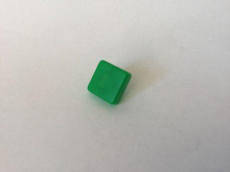Négyzet alakú gombfedél 12x12mm
