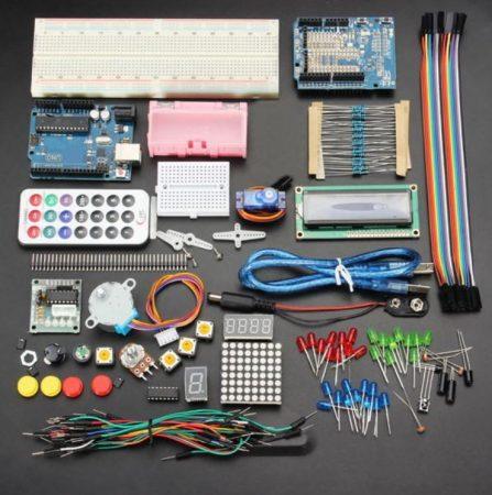 Roboworld Starter Kit (bővített kiadás) /hobbielektronika kezdőkészlet