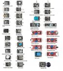 37 In 1 Szenzor Modul Board Set Kit Arduinohoz