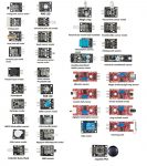 37 In 1 Szenzor Modul Board Set Kit