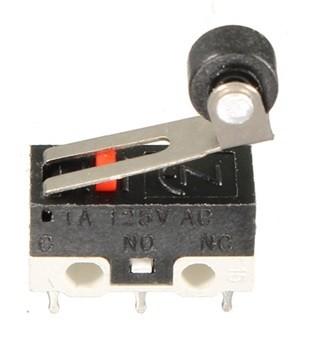 Görgős mikro kapcsoló  AC 125V 1A