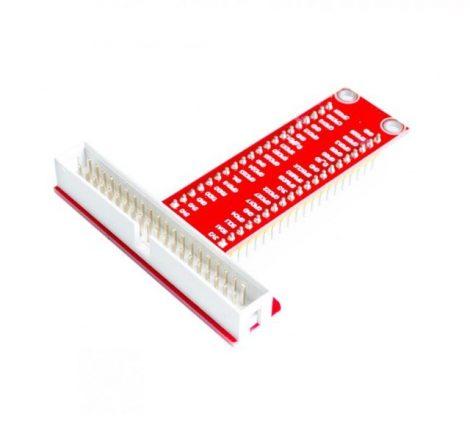 GPIO adapter 40 pines T kialakítású Raspberry Pi-hez