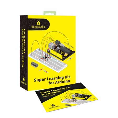 Keyestudio Super Learning kit UNO R3-al - hobbielektronikai tanuló készlet
