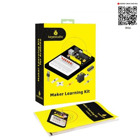 Keyestudio Maker Learning kit - UNO R3-al - hobbielektronikai tanuló készlet