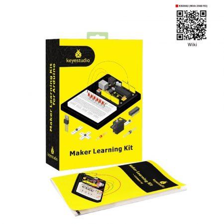 Keyestudio Maker Learning kit -MEGA 2560-al - hobbielektronikai tanuló készlet
