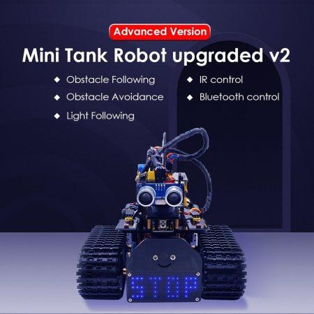 Keyestudio DIY Mini Tank Robot V2.0 - okos robot Arduinohoz