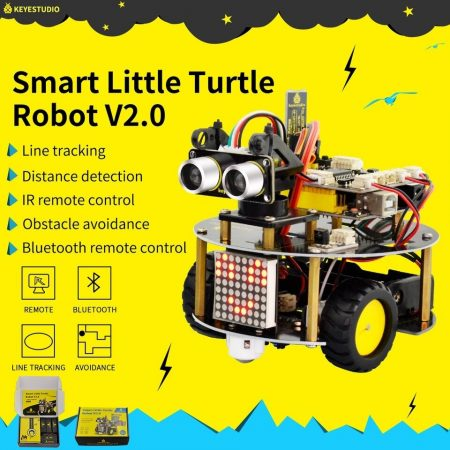 Keyestudio Smart Little Turtle Robot Car kit V2.0