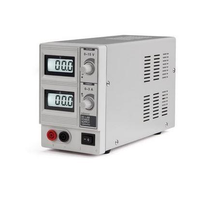 Velleman - LABPS1503 - DC labortápegység két LCD kijelzővel / 0-15 VDC / 0-3A /