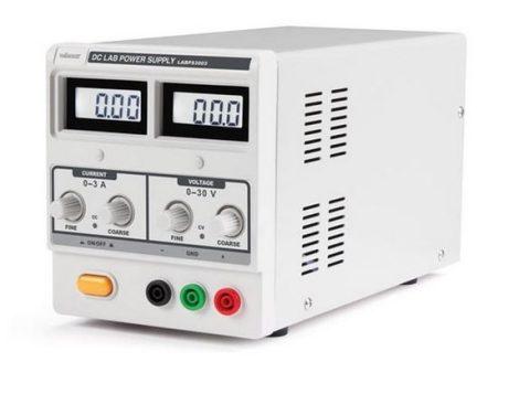 Velleman - LABPS3003 - labortápegység 0-30VDC /0-3A két kijelzővel