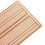 Egyoldalas forrasztható PCB lap (5 x10 cm)