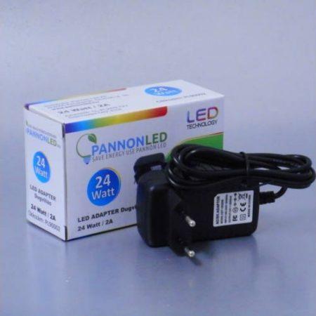 Tápegység / LED adapter 12V/2A dugvillás - 24Watt (PL90002)