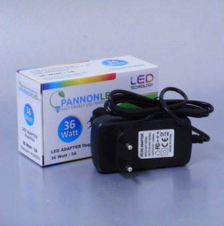 Tápegység / LED adapter 12V dugvillás - 36Watt/3A (PL90003)