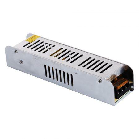 Tápegység / LED tápegység 12V/10A fémházas ipari - 120 Watt (PL90030)