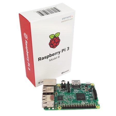 Raspberry Pi 3 Model B CPU 1.2GHz( ARM Cortex-A53) 64-Bit Quad-Core 1GB RAM