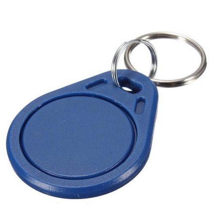 RFID írható és olvasható kulcstartó (13.56 MHz- KÉK)