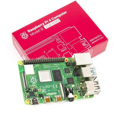 Raspberry Pi 4 Model B - 2GB 64 bit 1.5GHz Quad-Core - Bluetooth / 802.11 b/g/n/ac WIFI/ Gigabit Ethernet