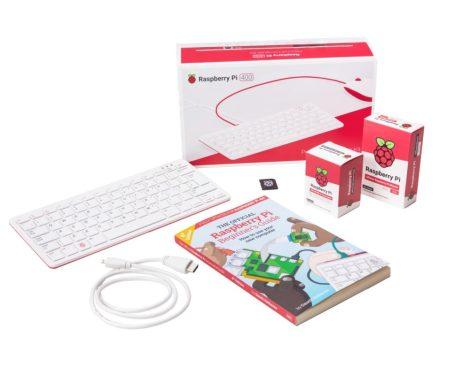 Raspberry PI400 Personal Computer Kit (UK/EU) - UK keyboard layout / EU USB-C tápegység