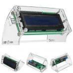 16 x 2 LCD kijelzőhöz shell modul/ szerelhető tok