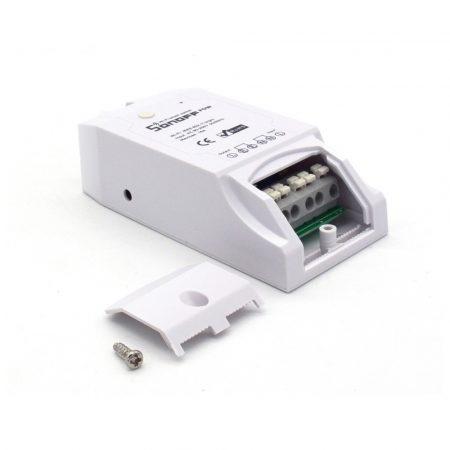 Sonoff Dual R2 WiFi-s, internetről távvezérelhető okos kapcsoló relé két áramkörhöz