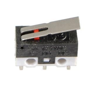 Egyenes karú mikro kapcsoló AC 125V 1A