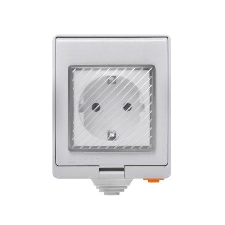 SONOFF S55 Wi-Fi Smart Waterproof Socket - vízálló dugaszoló aljzat