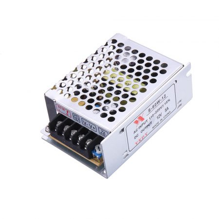 Geekcreit® 60W tápegység modul (AC 100-240V - DC 12V 5A) fémházas