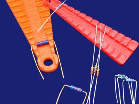 Ellenállás láb-méretező eszköz