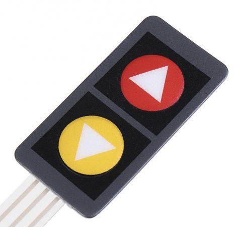 2 gombos SCM Matrix billentyűzet FEL/LE szimbólummal (2x1)