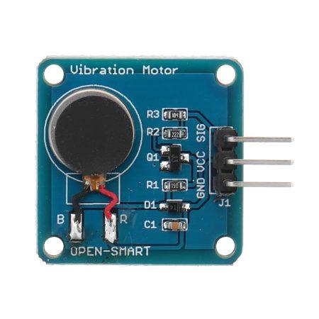 Rezgő motor modul - Mini lapos rezgő egyenáramú motor -  vibrációs motor (1027)
